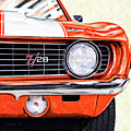 Portrait Of A Classic - 1969 Camaro Z28 by Mark Tisdale