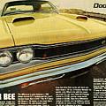 1969 Dodge Coronet Super Bee by Digital Repro Depot