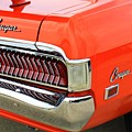 1969 Mercury Cougar Tail Light With Logos by WHBPhotography Wallace Breedlove