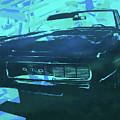 1969 Pontiac Gto Convertible Pop Blue by David King