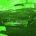 1969 Pontiac Gto Convertible Pop Green by David King