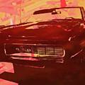1969 Pontiac Gto Convertible Pop Red by David King