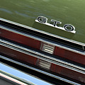 1969 Pontiac Gto Taillight Emblem by Jill Reger