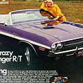 1970 Dodge Challenger Rt Convertible by Digital Repro Depot