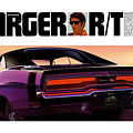 1970 Dodge Charger Rt by Digital Repro Depot