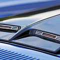 1970 Ford Mustang Gt Mach 1 Hood by Jill Reger