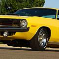 1970 Hemi 'cuda - Lemon Twist Yellow by Gordon Dean II