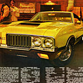 1970 Oldsmobile Cutlass 442 W-30 by Digital Repro Depot