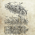 1970 Triumph Motorcycle Patent by Dan Sproul