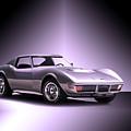 1971 Corvette Stingray 427 Zr1 II by Dave Koontz