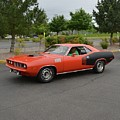 1971 Plymouth Cuda 440 by Mobile Event Photo Car Show Photography