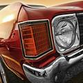 1972 Chevrolet Chevelle Ss  by Gordon Dean II