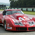 1972 Chevy Corvette At Road America by Tad Gage