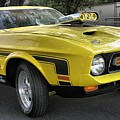 1972 Ford Mustang Mach 1 by Richard Rizzo