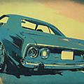 1972 Plymouth Barracuda Blue by David King