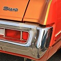 1973 Plymouth Scamp Tail Lights And Logo by WHBPhotography Wallace Breedlove
