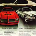1973 Pontiac Firebird Trans Am  by Digital Repro Depot