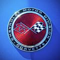 1974 Corvette Sting Ray Convertible Emblem by Jill Reger