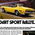 1974 Dodge Dart Sport Rallye by Digital Repro Depot
