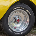 1976 Canary Yellow Vette Wheel by Robert Kinser