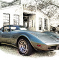 1976 Corvette Stingray by Susan Rissi Tregoning