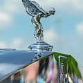 1976 Rolls  Royce Saloon Hood Ornament by Gaetano Chieffo