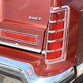 1977 Lincoln Continental Mark V With Tail Lights And Logo by WHBPhotography Wallace Breedlove