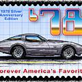 1978 Silver Anniversary Edition Corvette by K Scott Teeters