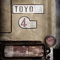 1978 Toyota Land Cruiser Fj40 Taillight Emblem -1191ac by Jill Reger