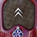 1979 Citroen 2cv Speedster Hood Ornament by Jill Reger