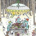 1980 Alien Yuletide Feast  by Steve Royce Griffin