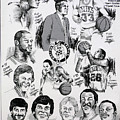 1984 Boston Celtics Championship Newspaper Poster by Dave Olsen