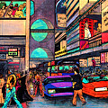 1984 Vision Of Times Square 2015 by Jorge Delara