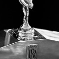 1986 Rolls-royce Hood Ornament 2 by Jill Reger