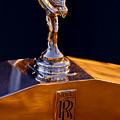 1986 Rolls-royce Hood Ornament by Jill Reger