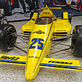 1987 Indianapolis 500 Winner Al Unser by Steve Gass