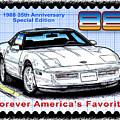 1988 35th Anniversary Special Edtion Corvette by K Scott Teeters