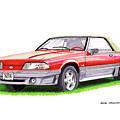 1989 Saleen Mustang Convertible by Jack Pumphrey