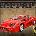 Ferrari F 512m 1995 by Jack Pumphrey