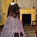 19th Century Plaid Dress by Susan Savad