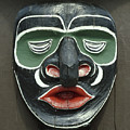 1a2923 Native American Mask Carving  by Ed  Cooper Photography