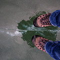 Standing On Thin Ice 2 by J and j Imagery