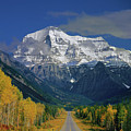 1m2441-h Mt. Robson And Yellowhead Highway H by Ed Cooper Photography