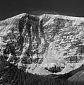 1m3769 Bw East Face Mt Kitchner by Ed Cooper Photography