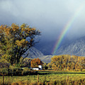 1m6345 Rainbow In Sierras by Ed Cooper Photography