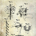 1911 Anatomical Skeleton Patent by Jon Neidert