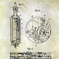 1913 Pocket Watch Patent by Jon Neidert