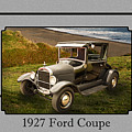 1927 Ford Coupe Car Antique Vintage Automobile Photograph Fine A by M K Miller