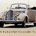 1940 Packard 120 Convertible Sedan by Dave Koontz