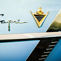 1953 Lincoln Capri Emblem by Jill Reger